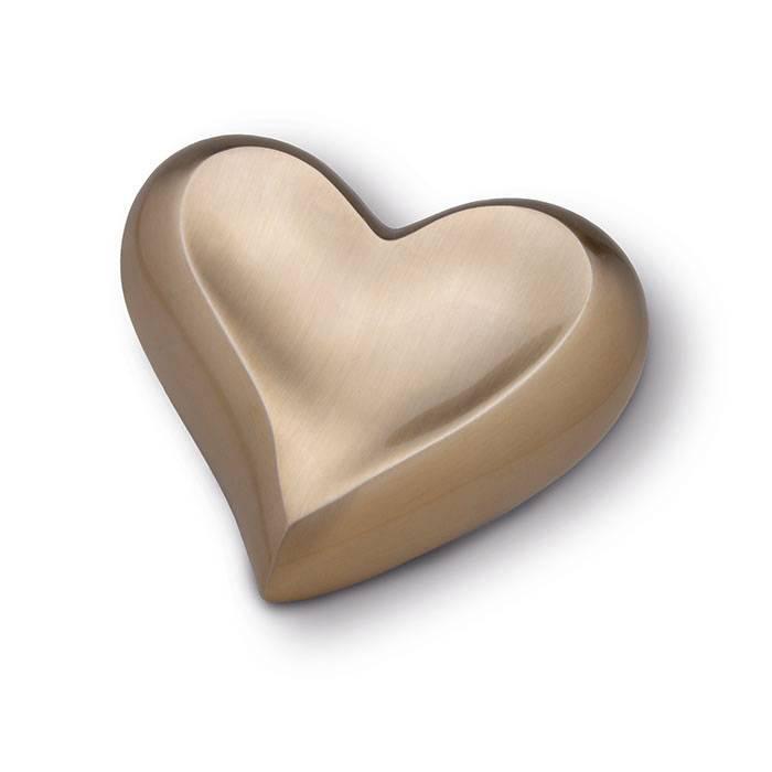HUH 026 Brass Keepsake Heart